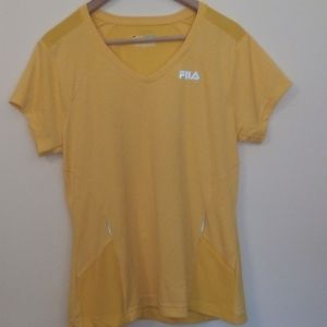Fila Sport Running Reflective T-shirt Large